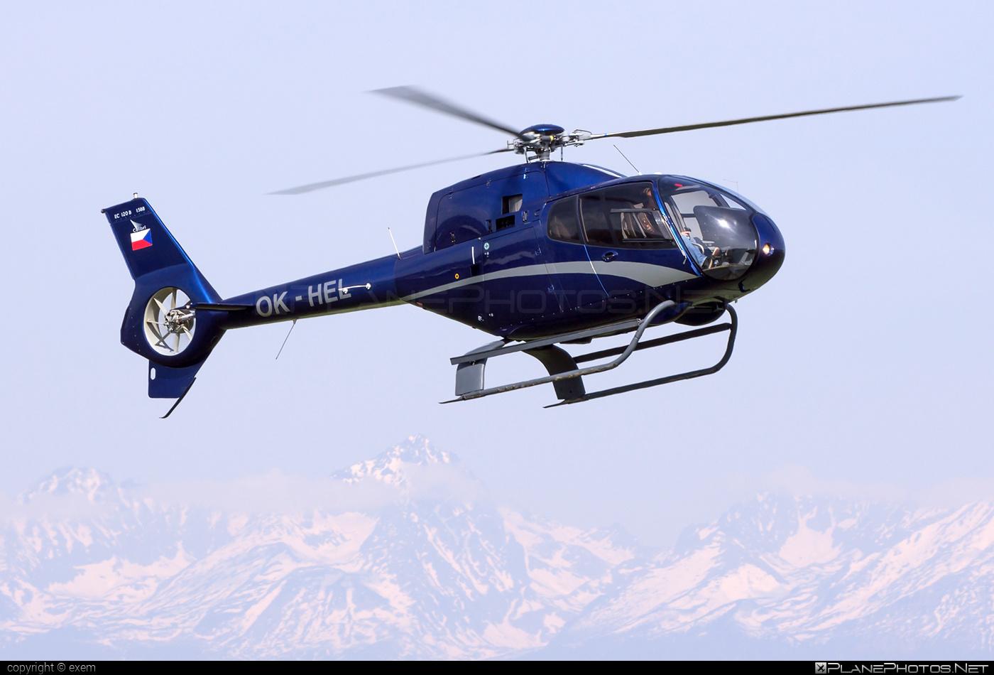 Eurocopter EC120 B Colibri - OK-HEL operated by Private operator #ec120 #ec120b #ec120bcolibri #ec120colibri #eurocopter #eurocoptercolibri #eurocopterec120colibri