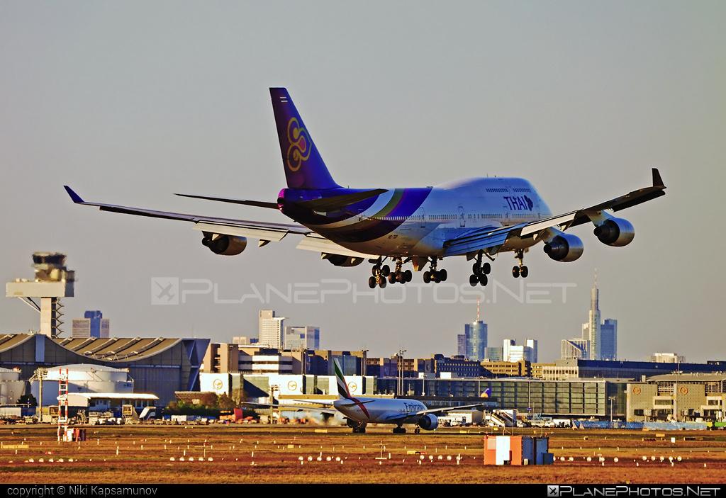 Boeing 747-400 - HS-TGP operated by Thai Airways #b747 #boeing #boeing747 #jumbo #thaiairways