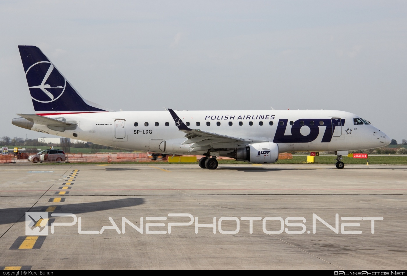 Embraer E170LR (ERJ-170-100LR) - SP-LDG operated by LOT Polish Airlines #e170 #embraer #embraer170 #embraer170lr #erj170 #erj170100 #erj170100lr #erj170lr #lot #lotpolishairlines