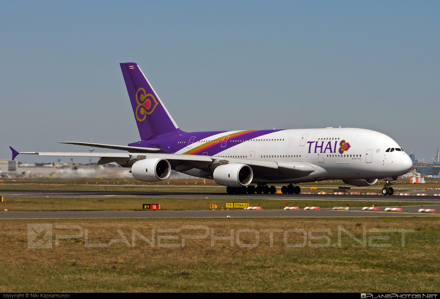 Airbus A380-841 - HS-TUC operated by Thai Airways #a380 #a380family #airbus #airbus380 #thaiairways