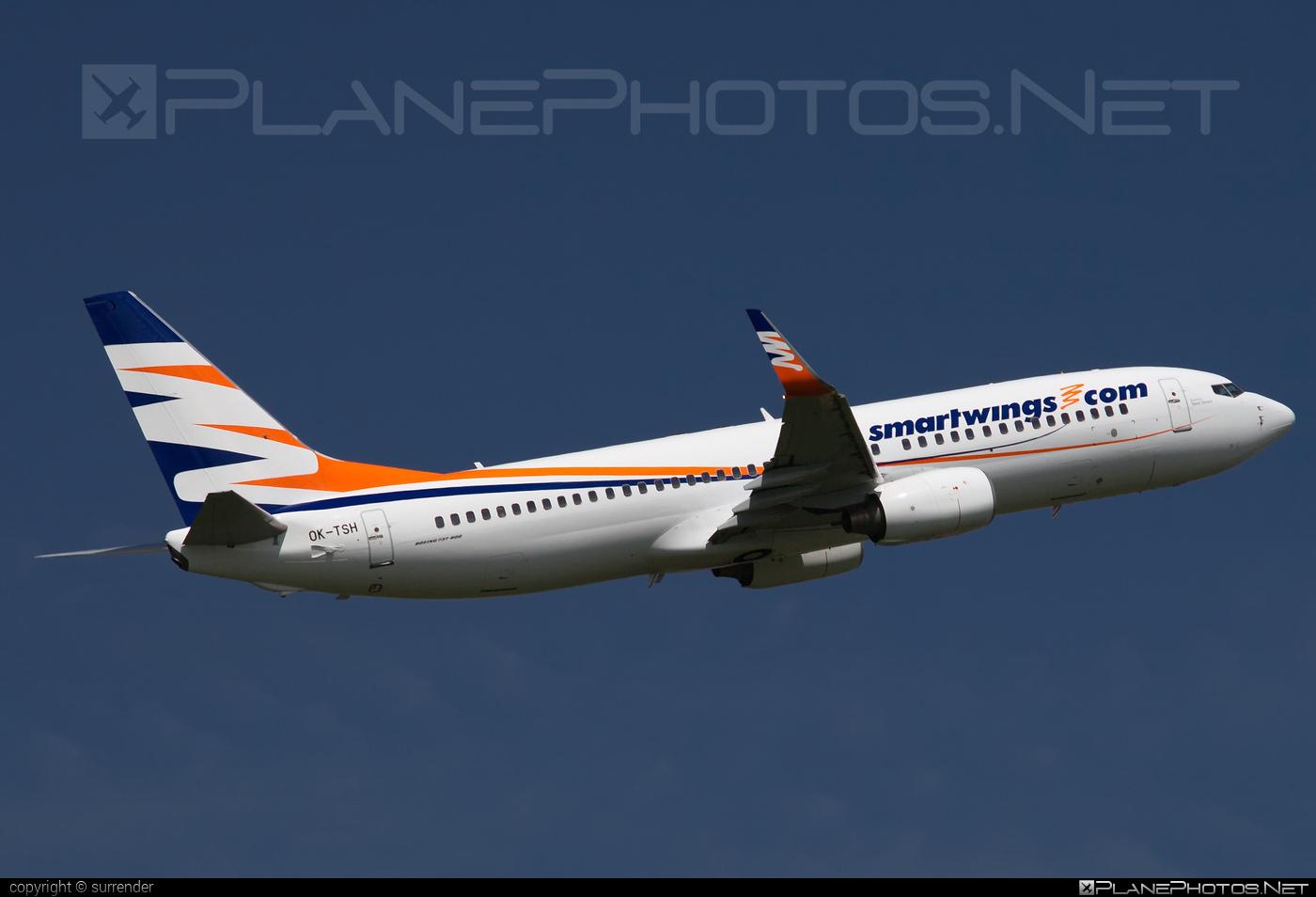 Boeing 737-800 - OK-TSH operated by Smart Wings #b737 #b737nextgen #b737ng #boeing #boeing737 #smartwings