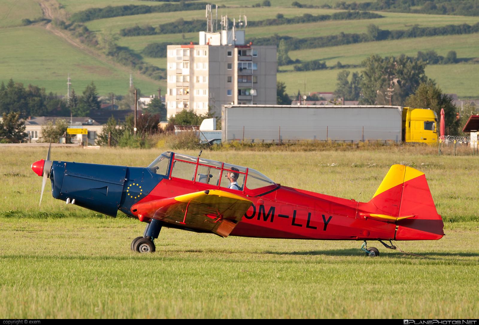 Zlin Z-226MS Trenér - OM-LLY operated by Aeroklub Spišská Nová Ves #z226 #z226trener #zlin #zlin226 #zlintrener