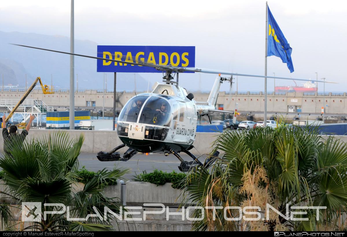 CASA Bo 105CB - HU.15-20 operated by Guardia Civil (Spanish Civil Guard) #casa
