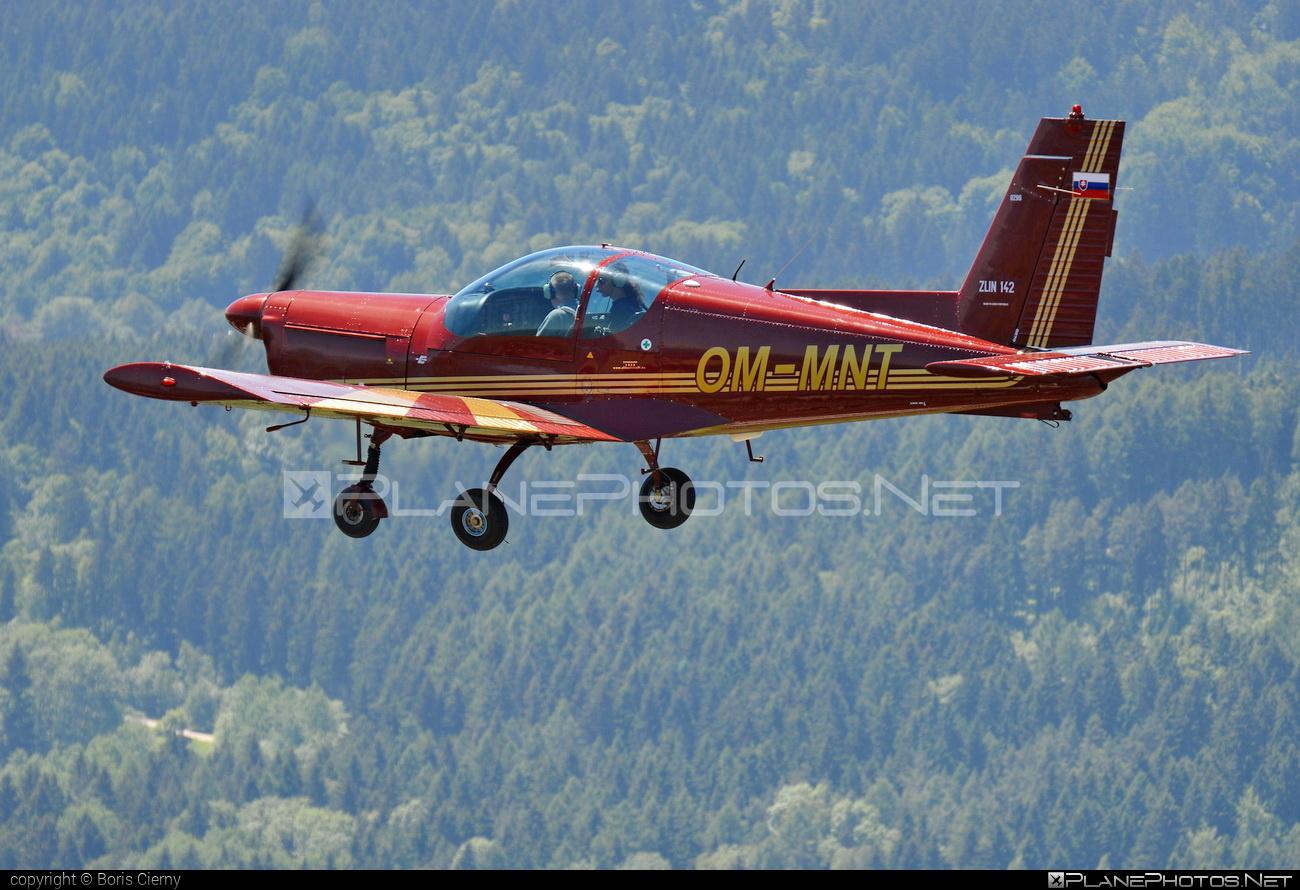 Zlin Z-142 - OM-MNT operated by Slovenský národný aeroklub (Slovak National Aeroclub) #z142 #zlin #zlin142