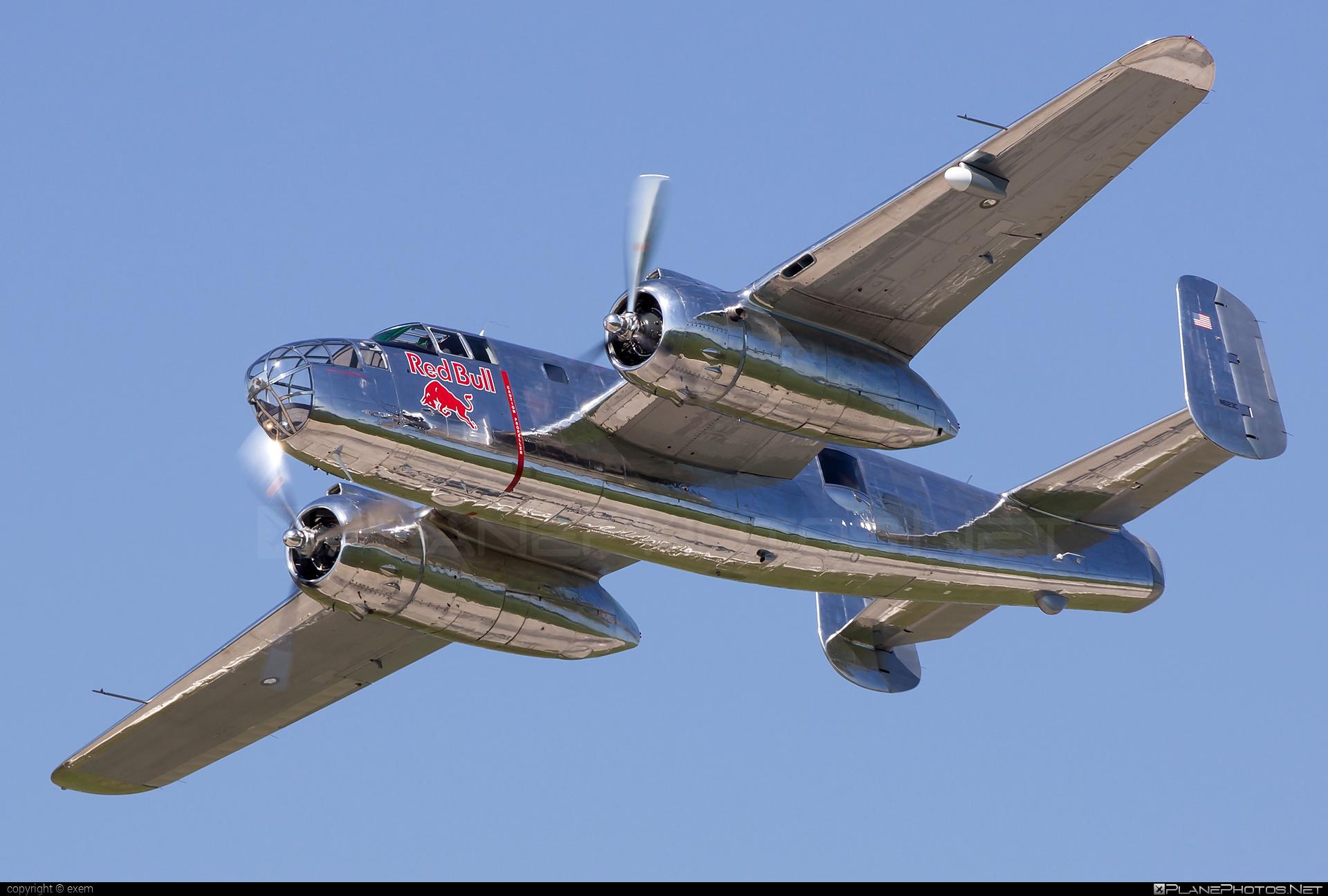 North American B-25J Mitchell - N6123C operated by The Flying Bulls #b25 #b25j #b25mitchell #northamerican #theflyingbulls