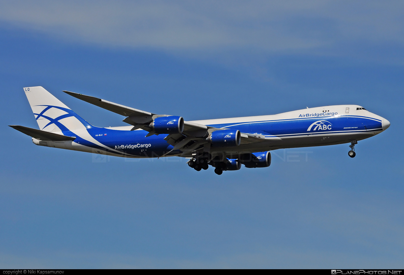 Boeing 747-8F - VQ-BLQ operated by AirBridgeCargo #airbridgecargo #b747 #b747f #b747freighter #boeing #boeing747 #jumbo