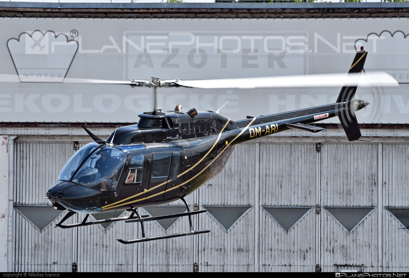 Bell 206B-3 JetRanger III - OM-ARI operated by EHC Service #bell #bellhelicopters