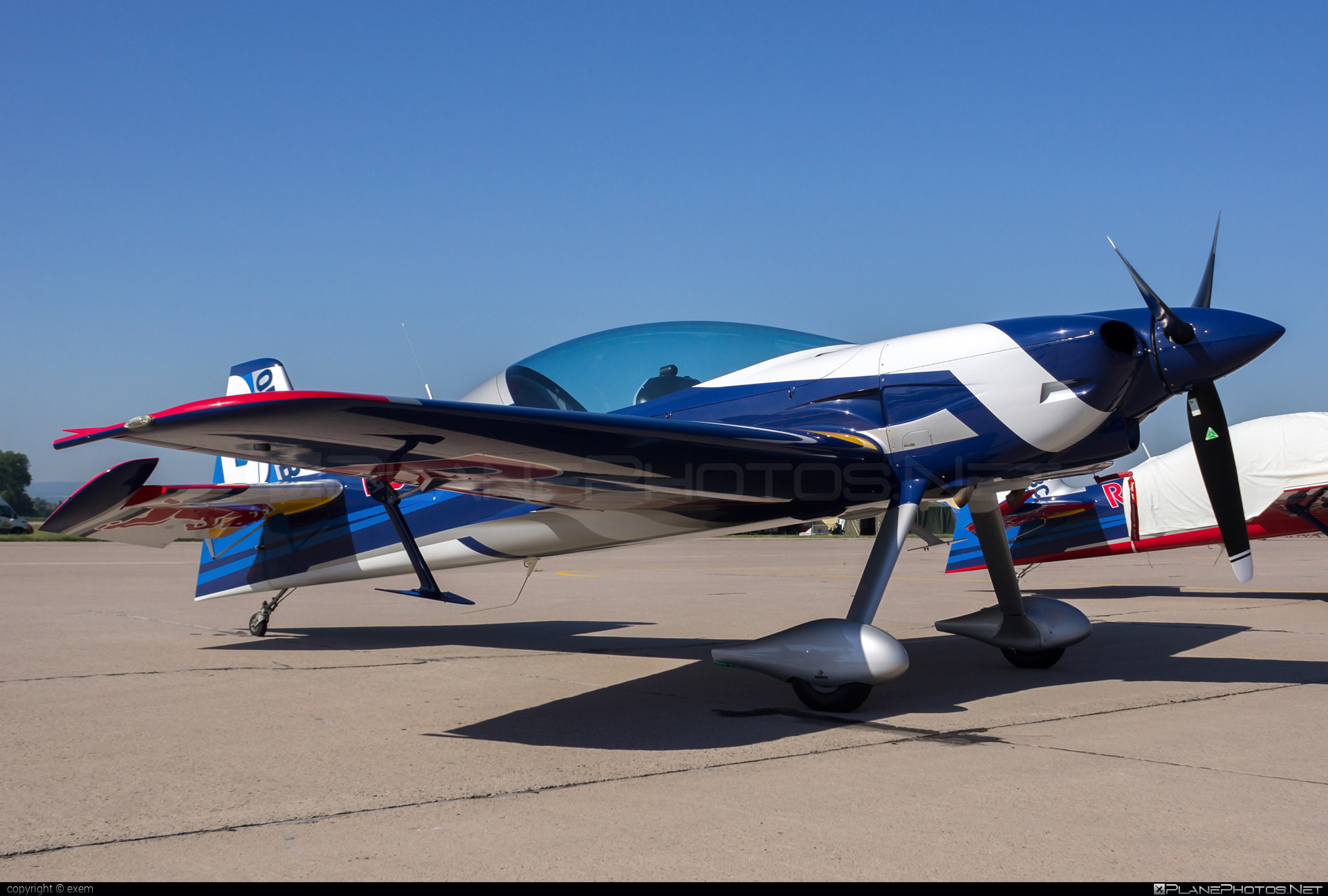 XtremeAir XA42 Sbach 342 - OK-FBB operated by The Flying Bulls Aerobatic Team #sbach #sbach342 #theflyingbullsaerobaticteam #xa42 #xtremeair