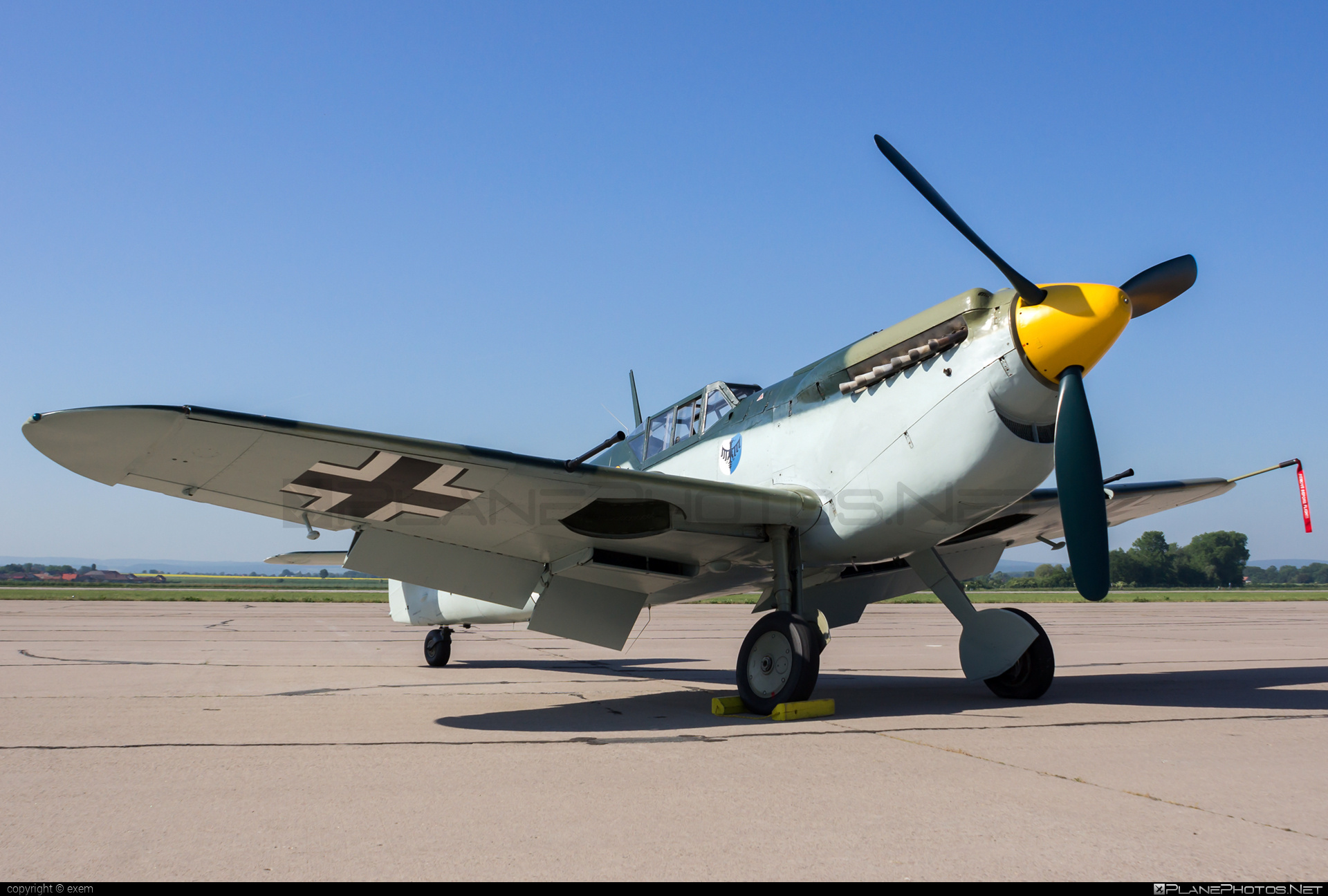 Hispano HA-1112-M1L Buchon - G-BWUE operated by Private operator #hispano