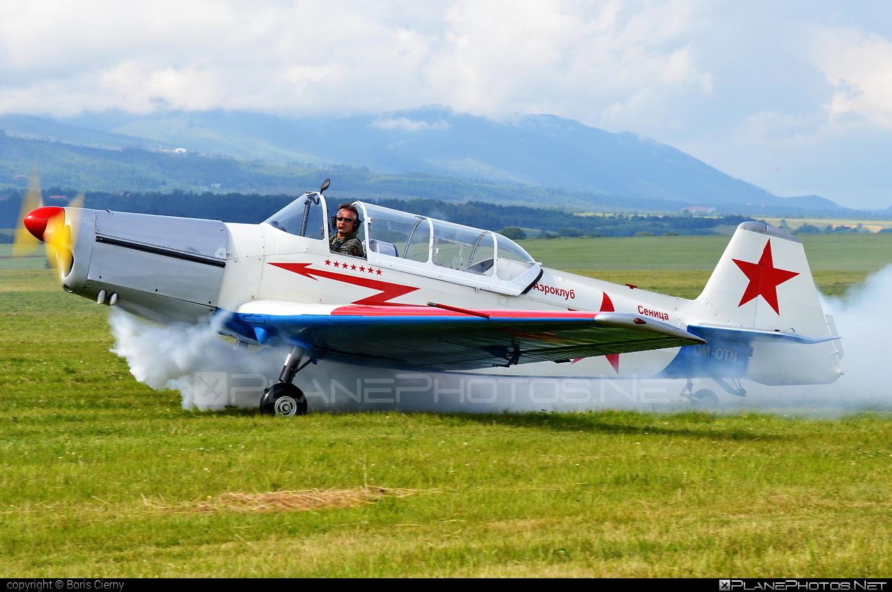 Zlin Z-326M Trenér Master - OM-OTN operated by Záhorácky aeroklub Senica #retroskyteam #rst #trenermaster #z326 #z326trenermaster #zlin #zlin326