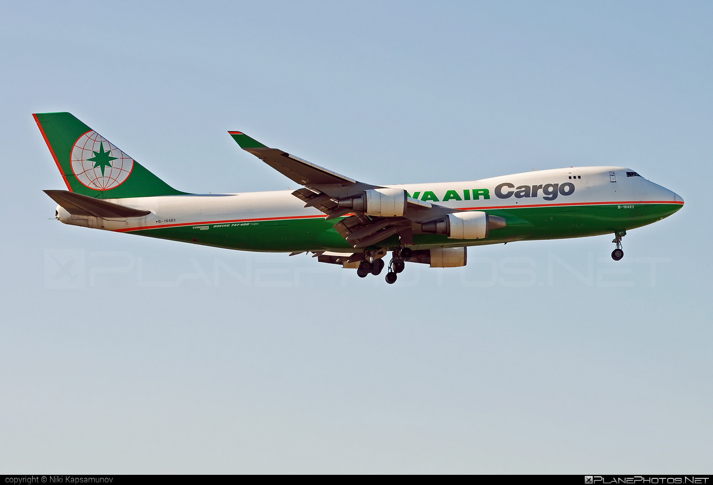 Boeing 747-400F - B-16483 operated by EVA Air Cargo #b747 #boeing #boeing747 #jumbo