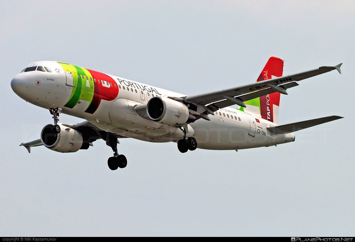 Airbus A320-214 - CS-TNN operated by TAP Portugal #a320 #a320family #airbus #airbus320