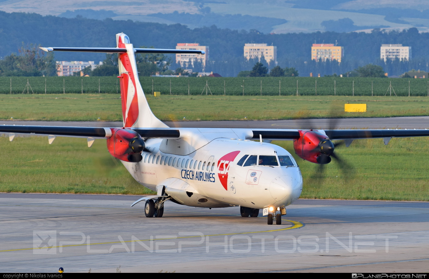 ATR 42-500 - OK-KFN operated by CSA Czech Airlines #atr #atr42 #atr42500 #csa #czechairlines