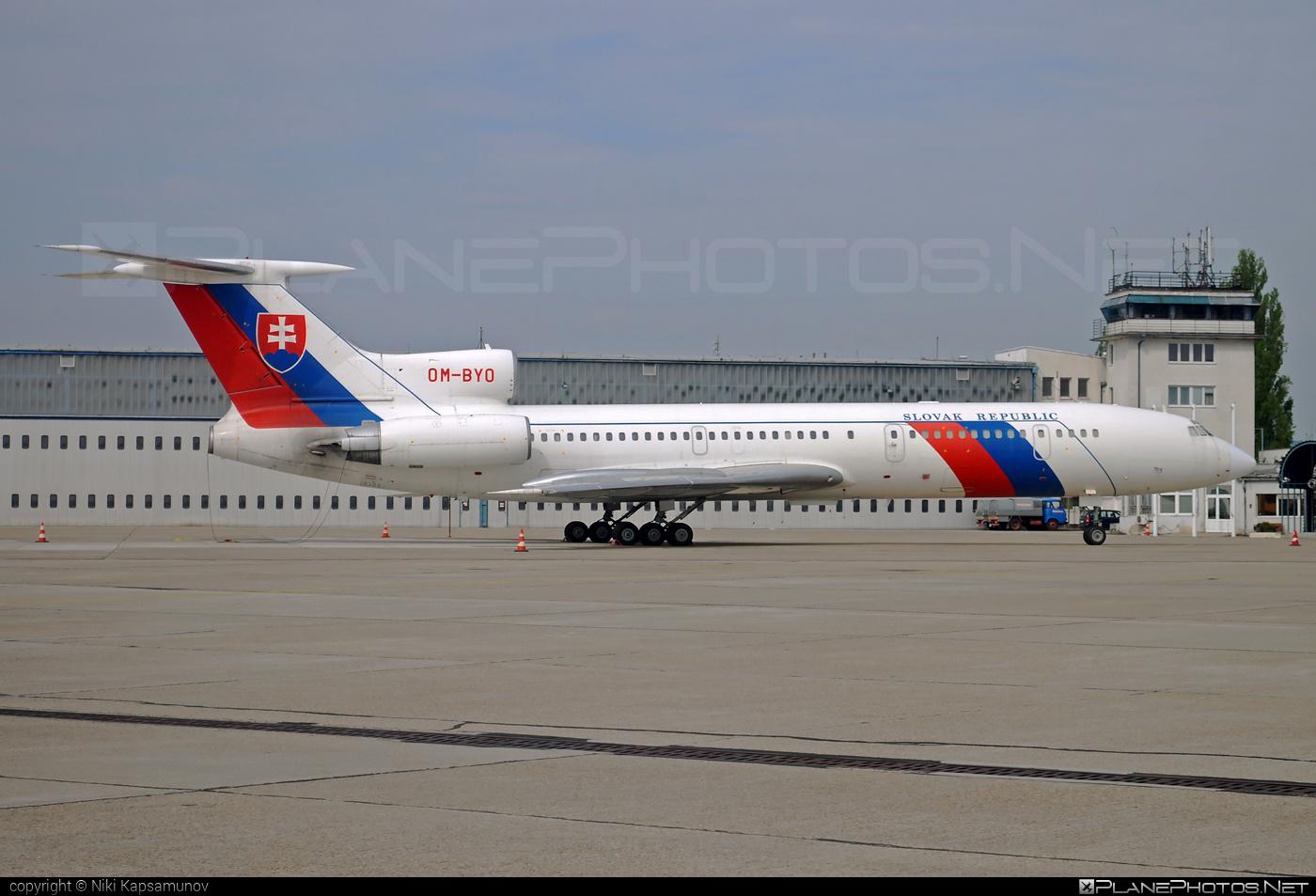 Letecký útvar MV SR (Slovak Government Flying Service) Tupolev Tu-154M - OM-BYO #tu154 #tu154m #tupolev