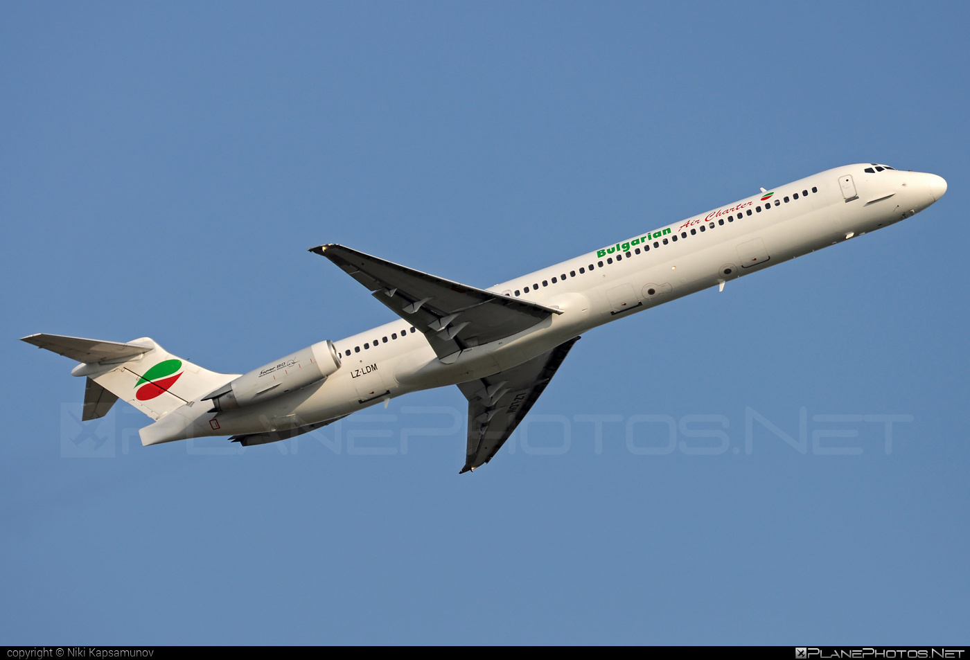 McDonnell Douglas MD-82 - LZ-LDM operated by Bulgarian Air Charter #bulgarianaircharter #mcdonnelldouglas #mcdonnelldouglas80 #mcdonnelldouglas82 #mcdonnelldouglasmd80 #mcdonnelldouglasmd82 #md80 #md82
