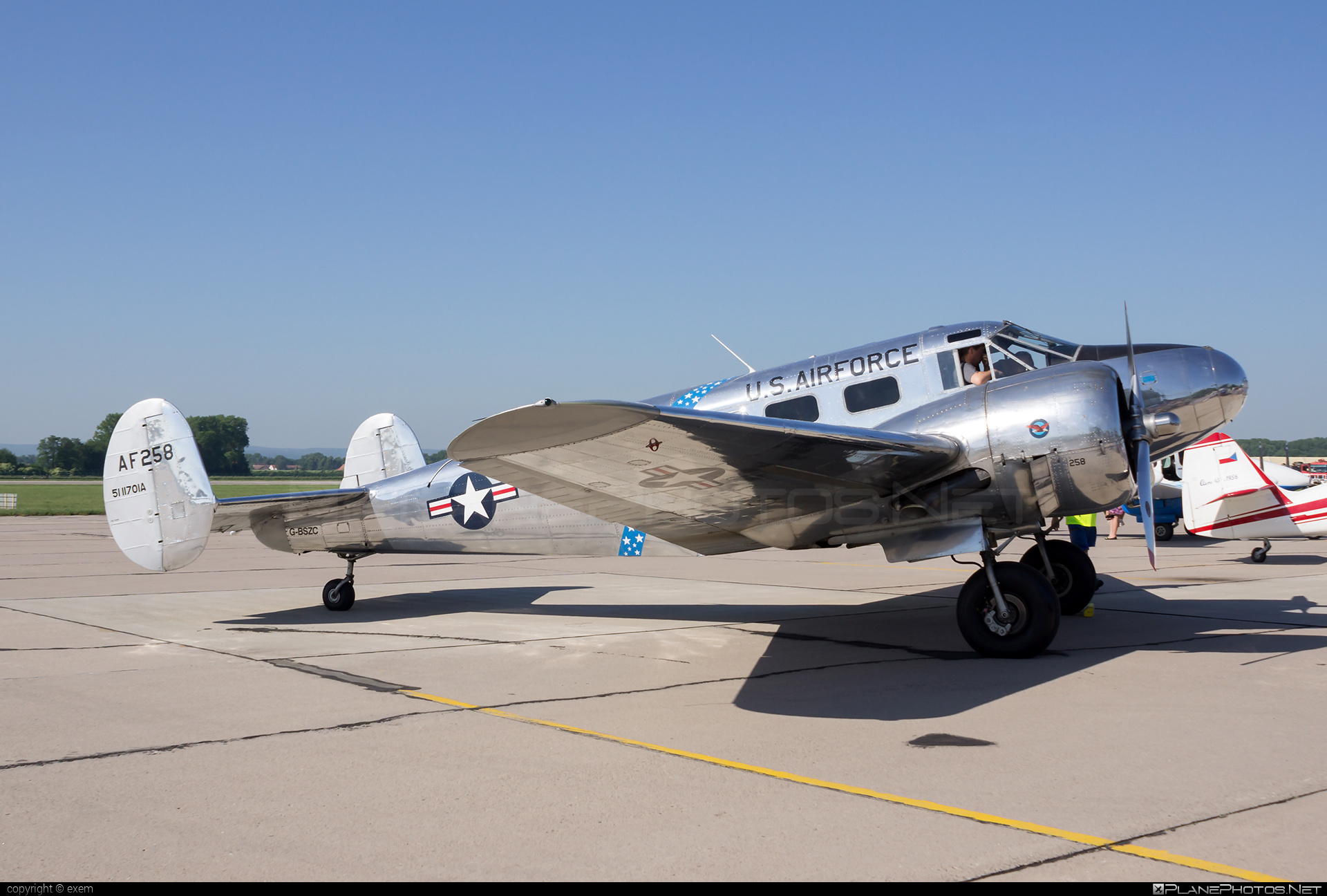 Beechcraft C-45H Expeditor - G-BSZC operated by Private operator #beechcraft