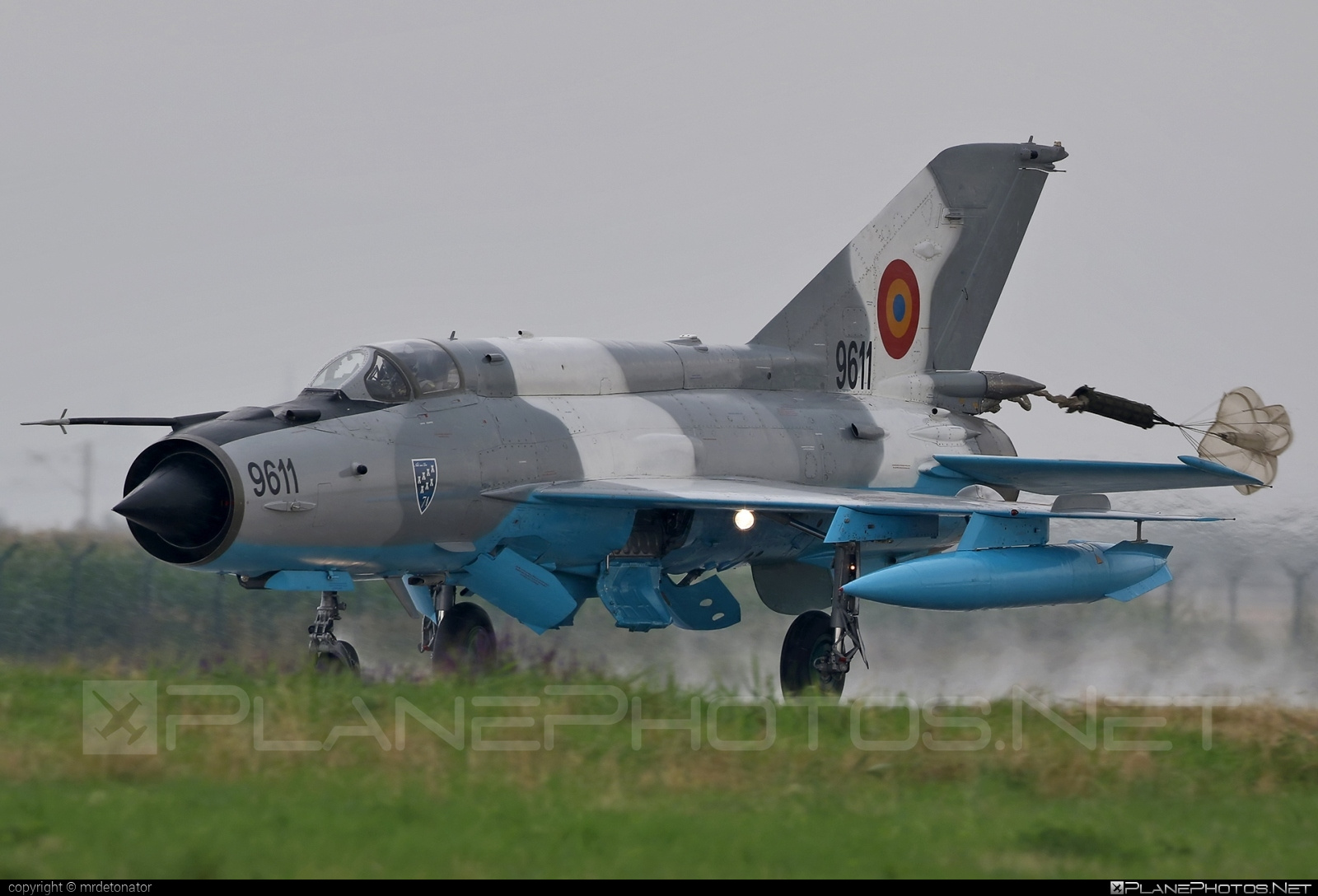 Mikoyan-Gurevich MiG-21MF - 9611 operated by Forţele Aeriene Române (Romanian Air Force) #forteleaerieneromane #mig #mig21 #mig21mf #mikoyangurevich #romanianairforce
