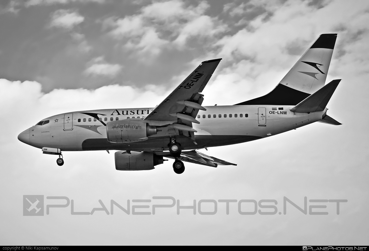Boeing 737-600 - OE-LNM operated by Austrian Airlines #b737 #b737nextgen #b737ng #boeing #boeing737