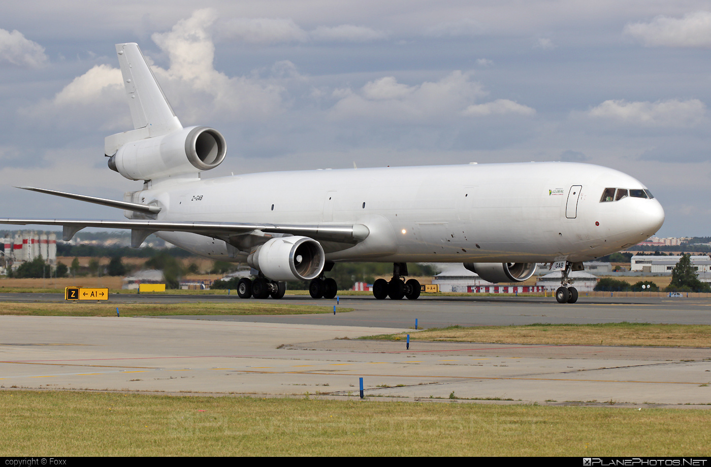McDonnell Douglas MD-11F - Z-GAB operated by Global Africa Cargo #mcdonnelldouglas #mcdonnelldouglas11 #mcdonnelldouglas11f #mcdonnelldouglasmd11 #mcdonnelldouglasmd11f #md11 #md11f