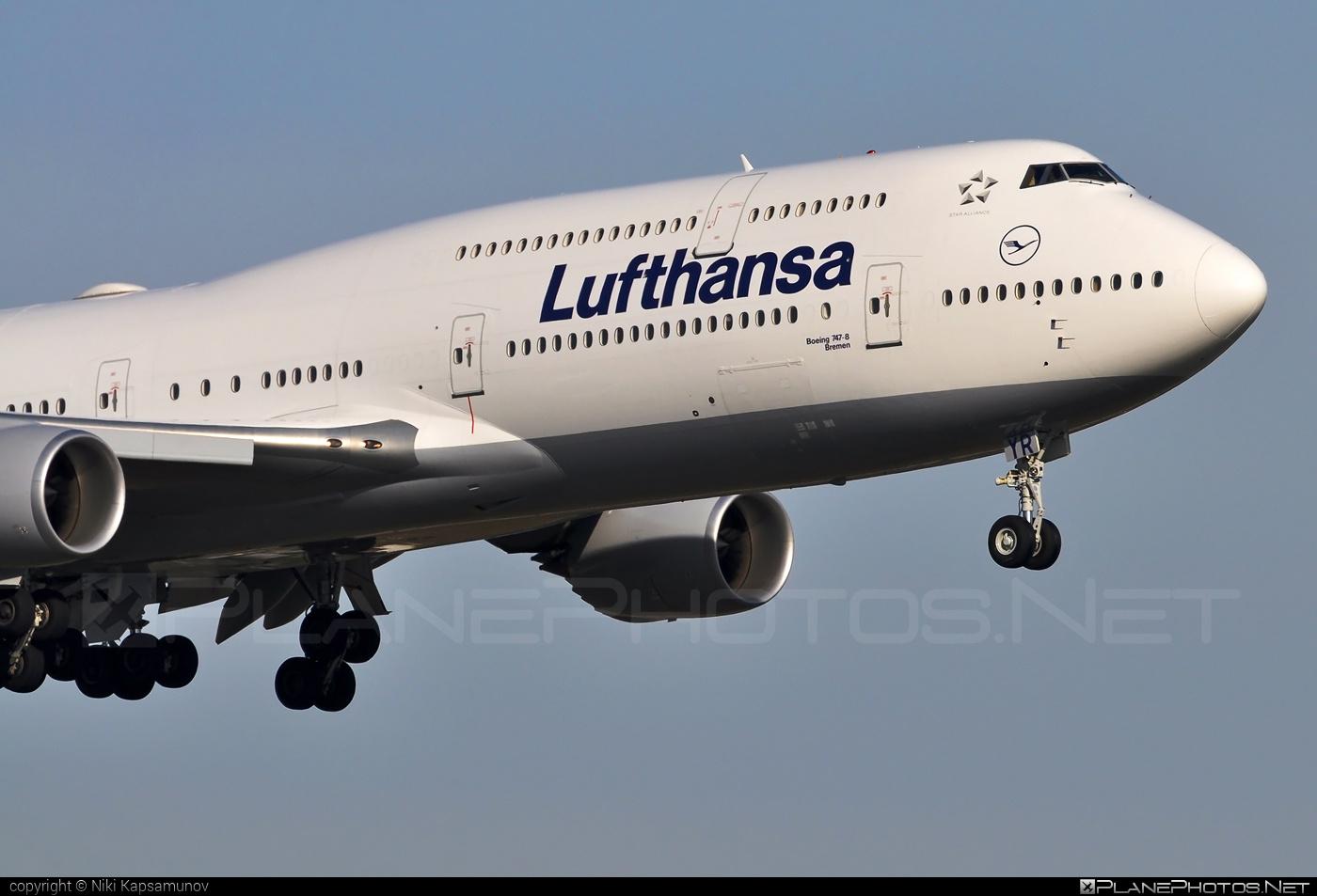 Boeing 747-8 - D-ABYR operated by Lufthansa #b747 #boeing #boeing747 #jumbo #lufthansa
