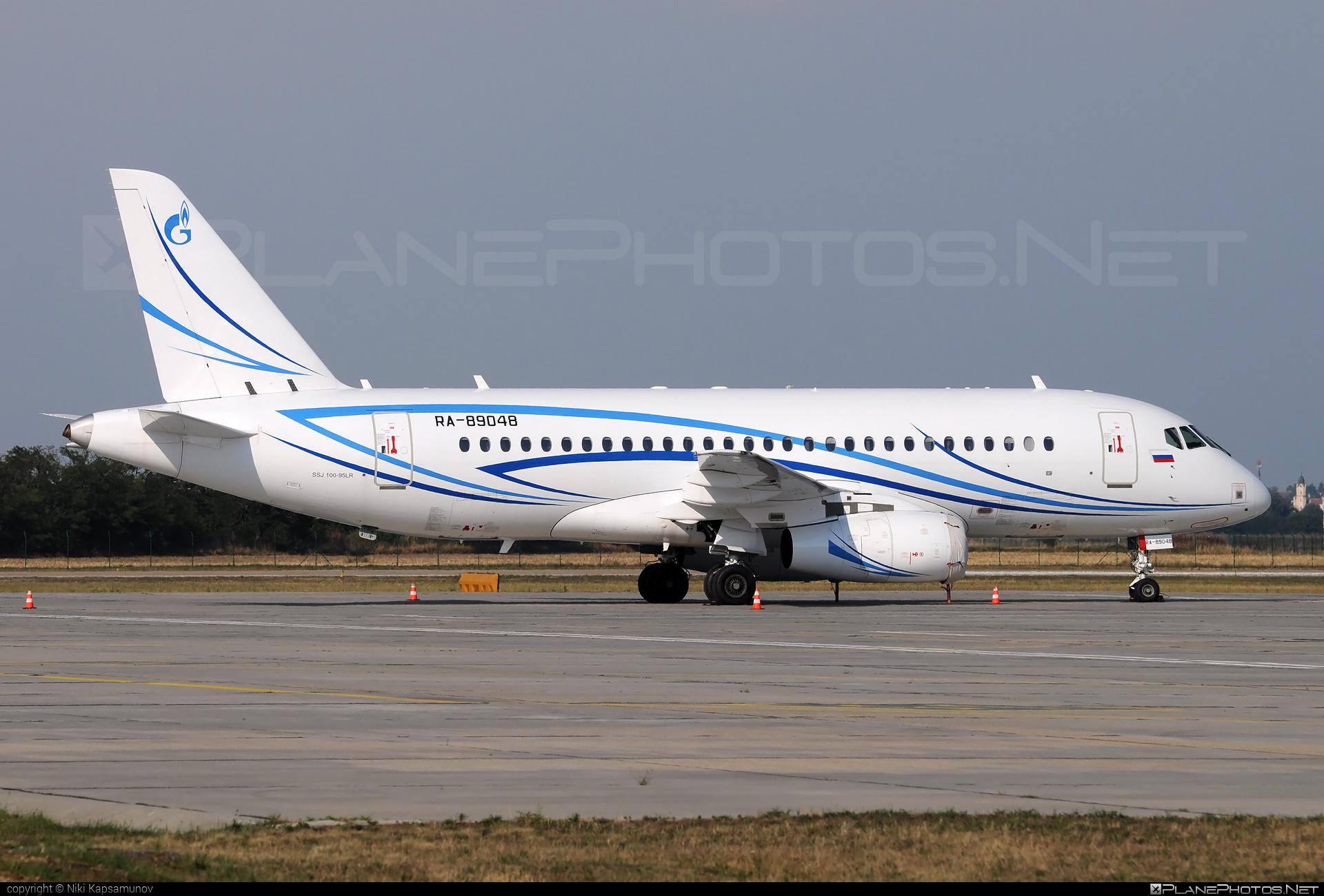 Sukhoi SSJ 100-95LR Superjet - RA-89048 operated by Gazpromavia #ssj100 #ssj10095lr #sukhoi #sukhoisuperjet #superjet