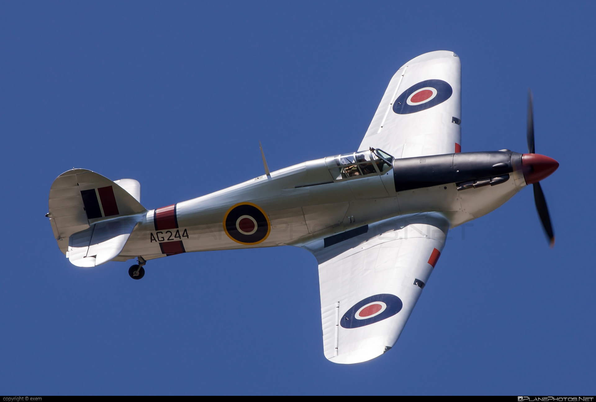 Canadian Car and Foundry Hurricane Mk.IIB - G-CBOE operated by Private operator #canadiancarandfoundry