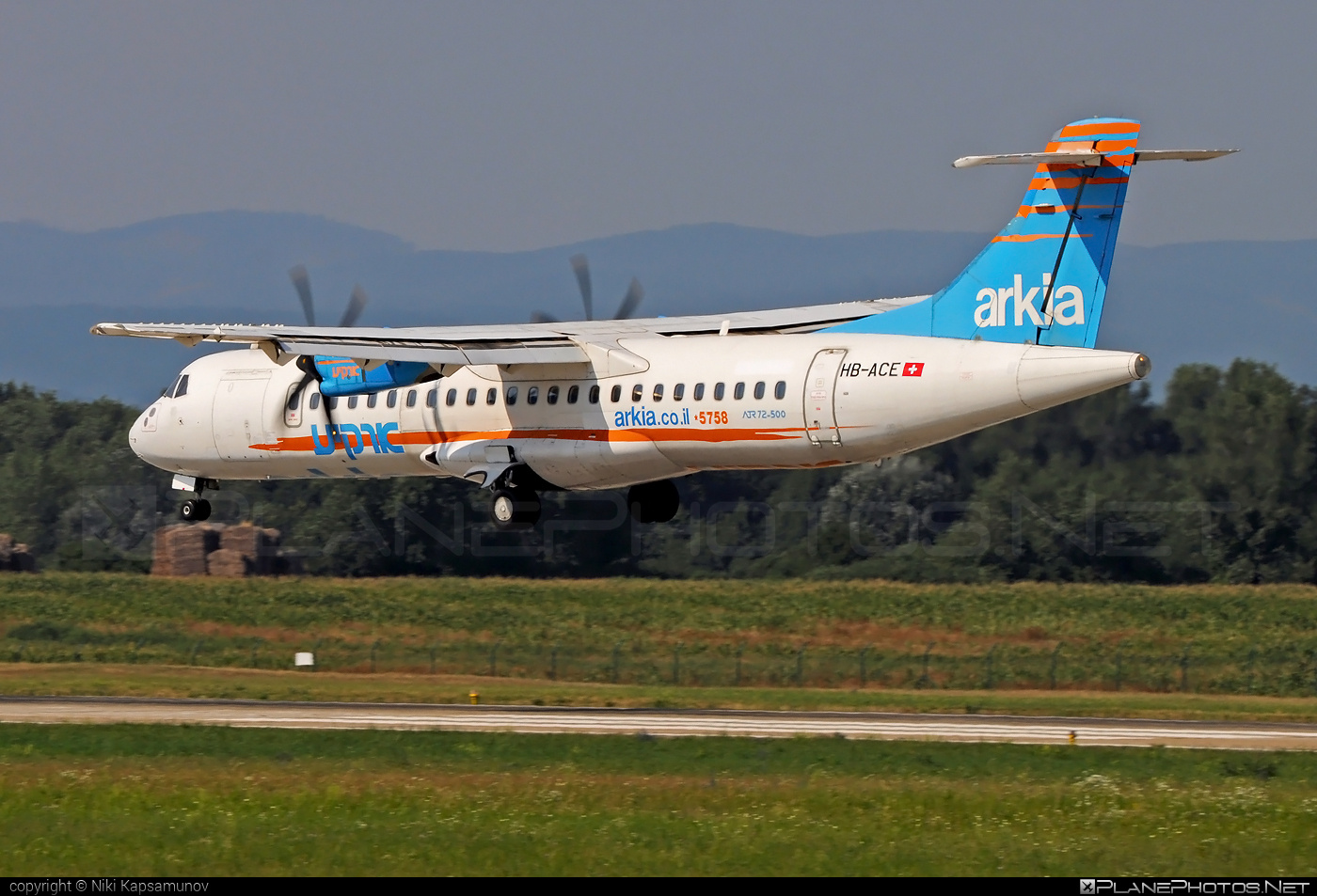 ATR 72-212A - HB-ACE operated by ASL Airlines Switzerland #aslairlines #aslairlinesswitzerland #atr