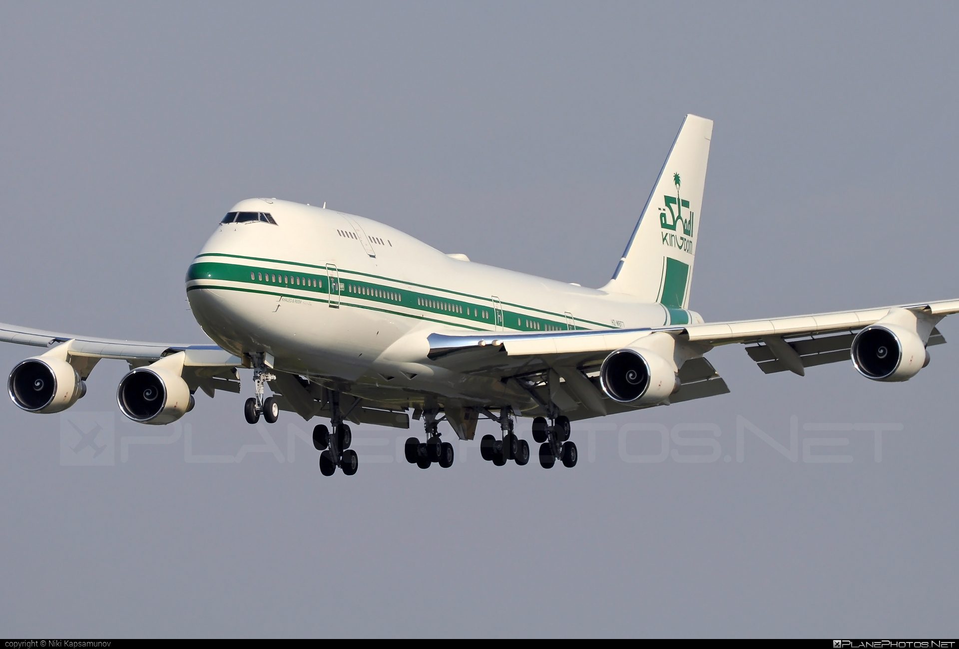 Boeing 747-400 - HZ-WBT7 operated by Kingdom Holding Company #b747 #boeing #boeing747 #jumbo