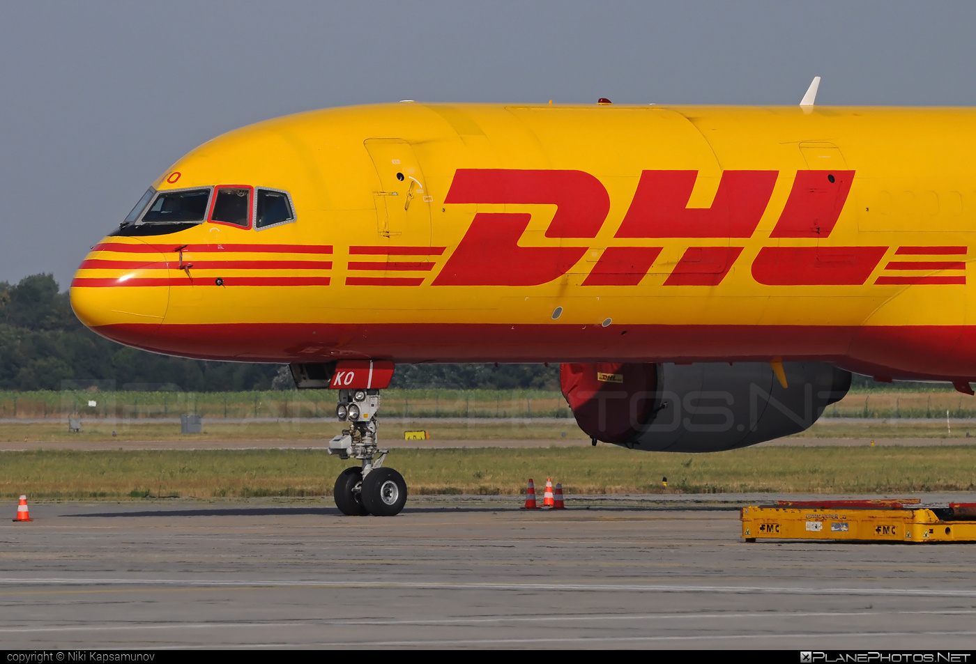 Boeing 757-200SF - G-BIKO operated by DHL Air #b757 #boeing #boeing757