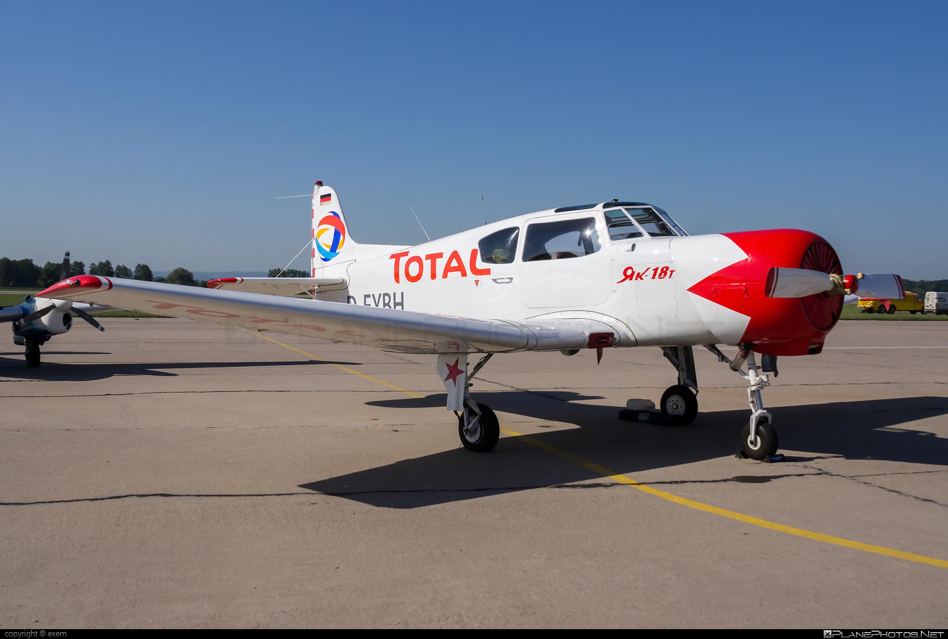 Yakovlev Yak-18T - D-EYBH operated by Private operator #yak #yak18 #yak18t #yakovlev