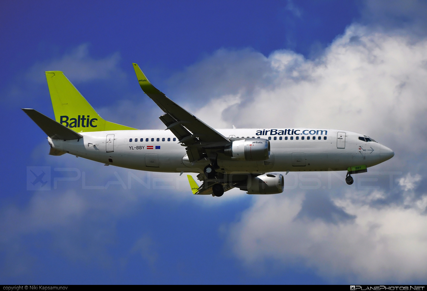 Boeing 737-300 - YL-BBY operated by Air Baltic #airbaltic #b737 #boeing #boeing737