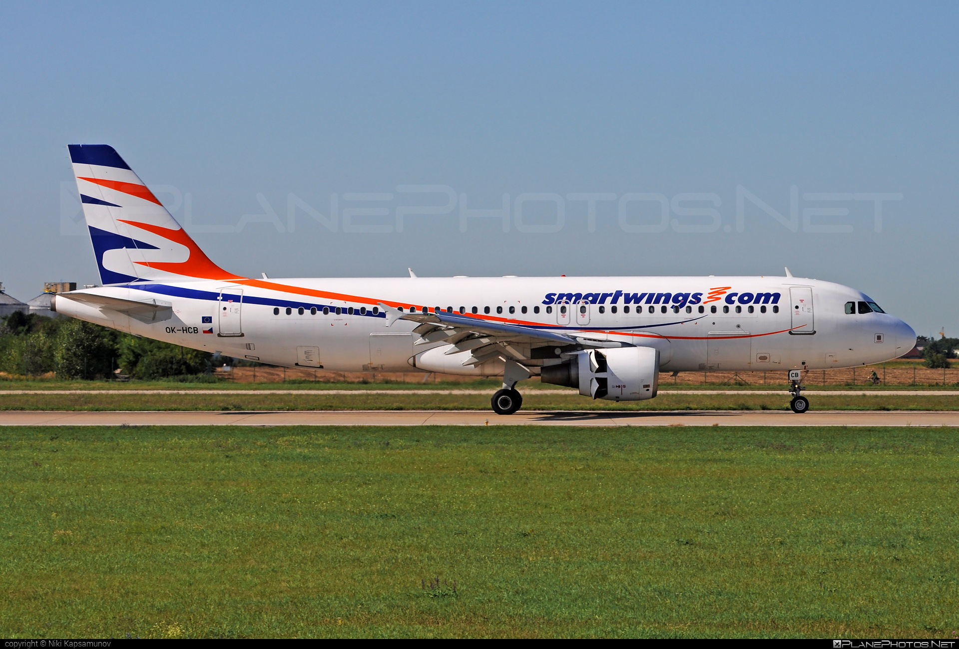 Airbus A320-214 - OK-HCB operated by Smart Wings #a320 #a320family #airbus #airbus320 #smartwings