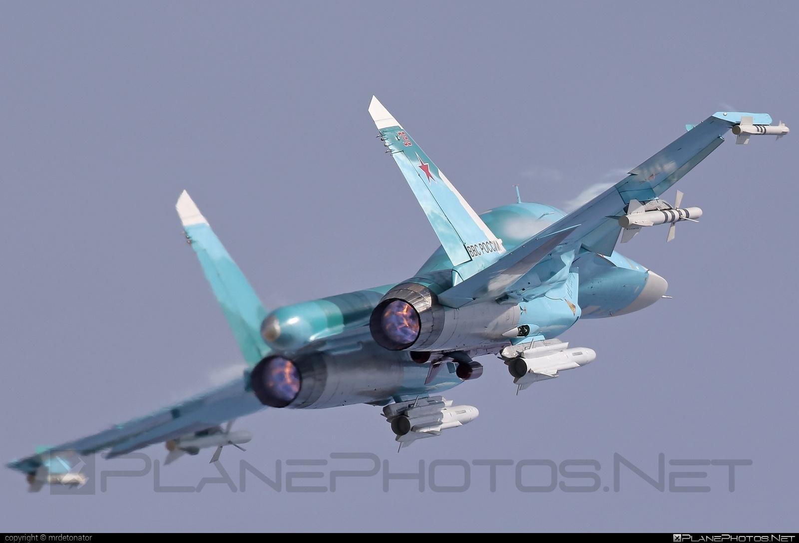 Sukhoi Su-34 - 38 operated by Voyenno-vozdushnye sily Rossii (Russian Air Force) #su34 #sukhoi #sukhoi34 #sukhoisu34