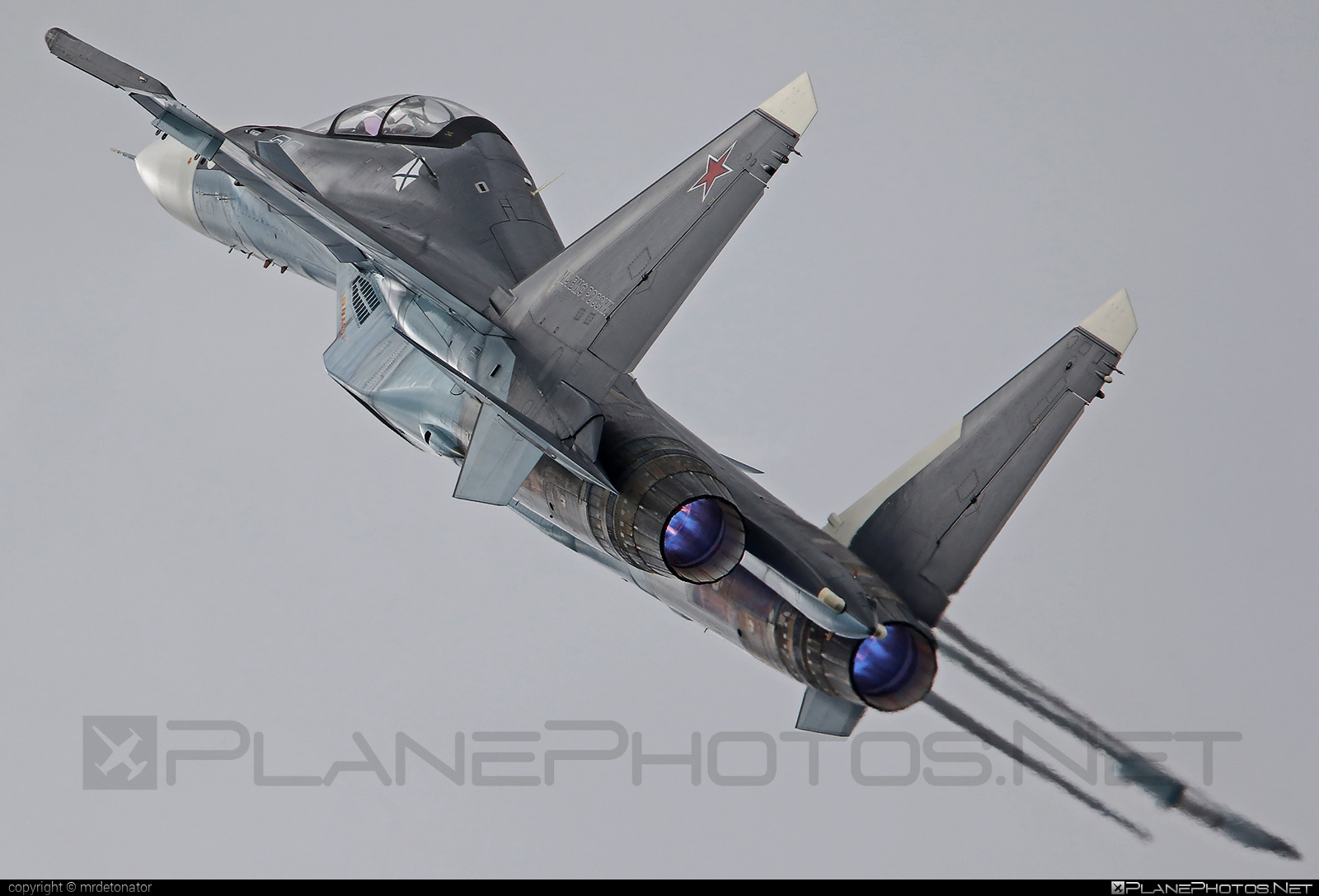 Sukhoi Su-30SM - 38 operated by Voyenno-vozdushnye sily Rossii (Russian Air Force) #maks2015 #sukhoi