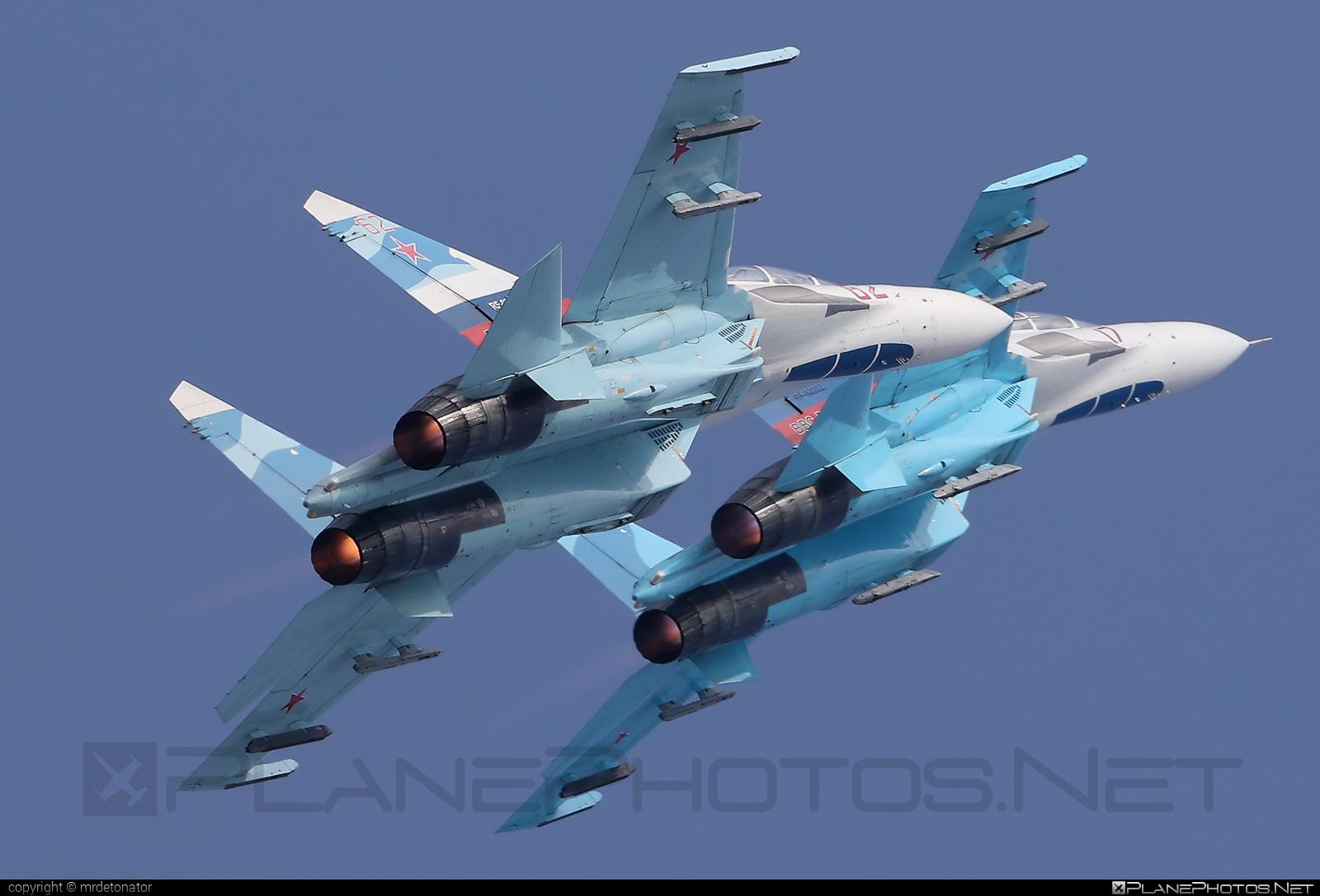 Sukhoi Su-27UB - 62 operated by Voyenno-vozdushnye sily Rossii (Russian Air Force) #su27 #su27ub #sukhoi #sukhoi27