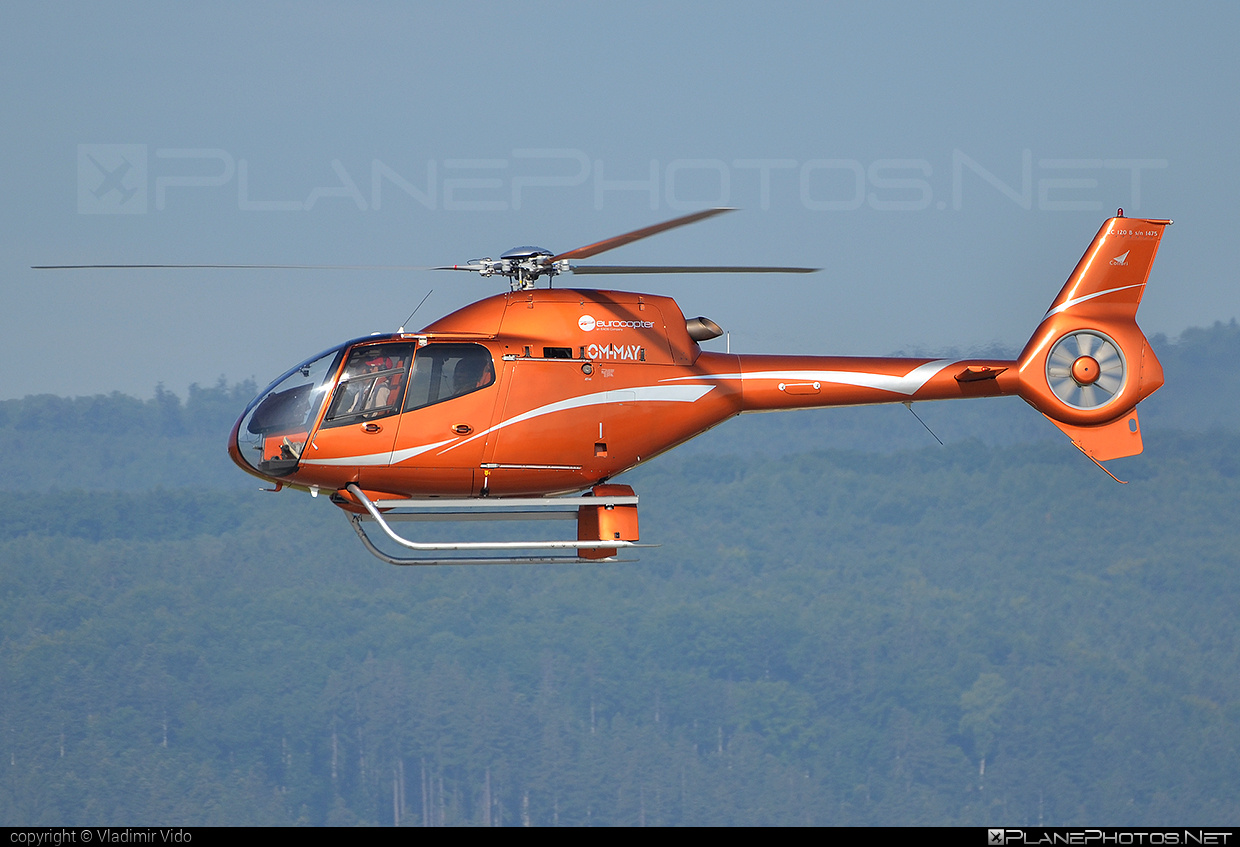 Eurocopter EC120 B Colibri - OM-MAY operated by Private operator #ec120 #ec120b #ec120bcolibri #ec120colibri #eurocopter #eurocoptercolibri #eurocopterec120colibri