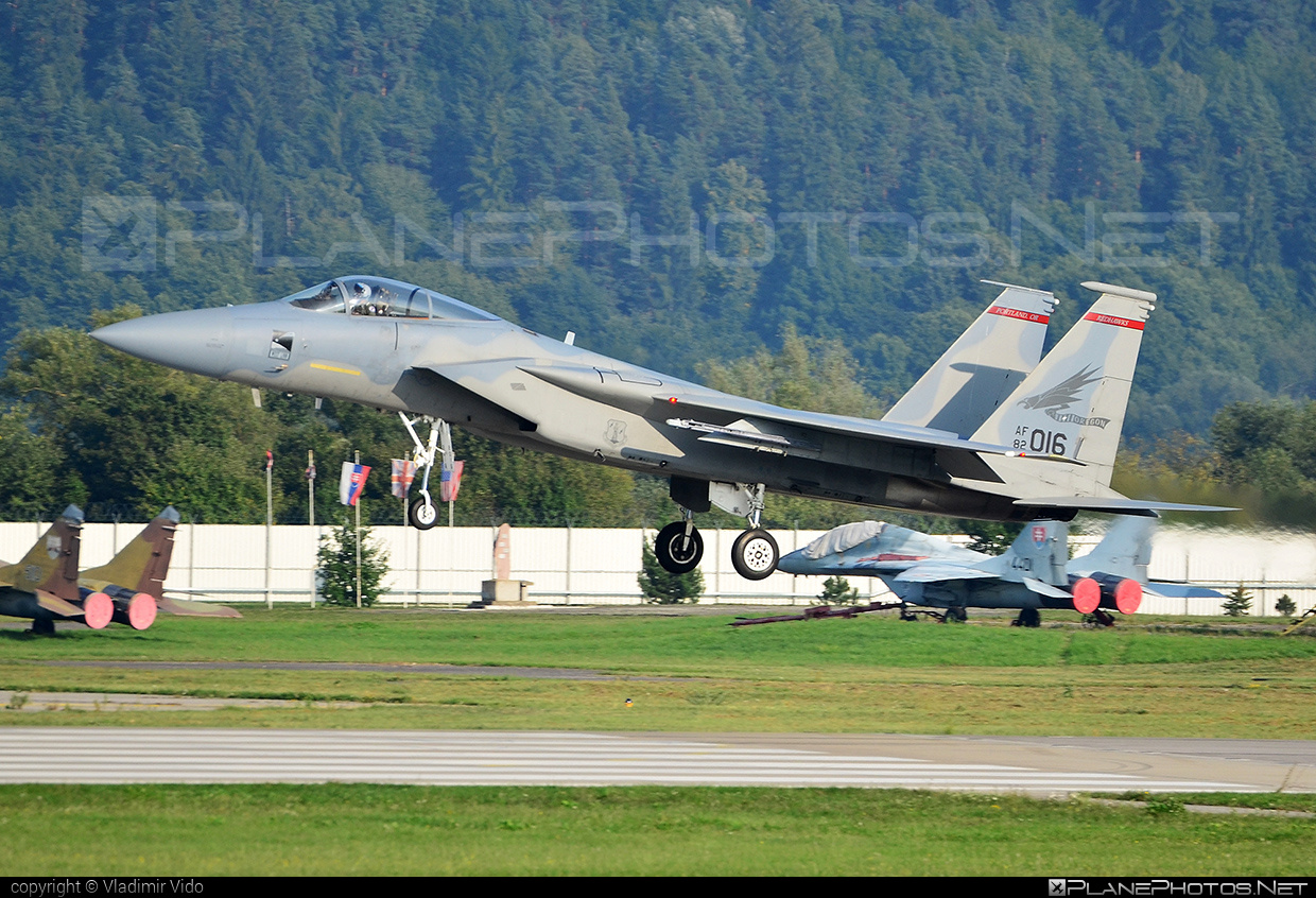 McDonnell Douglas F-15C Eagle - 82-0016 operated by US Air Force (USAF) #mcdonnelldouglas #usaf #usairforce