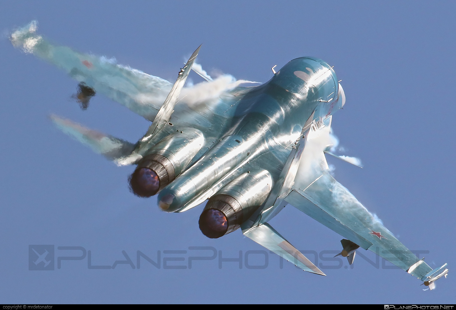 Sukhoi Su-34 - 38 operated by Voyenno-vozdushnye sily Rossii (Russian Air Force) #sukhoi