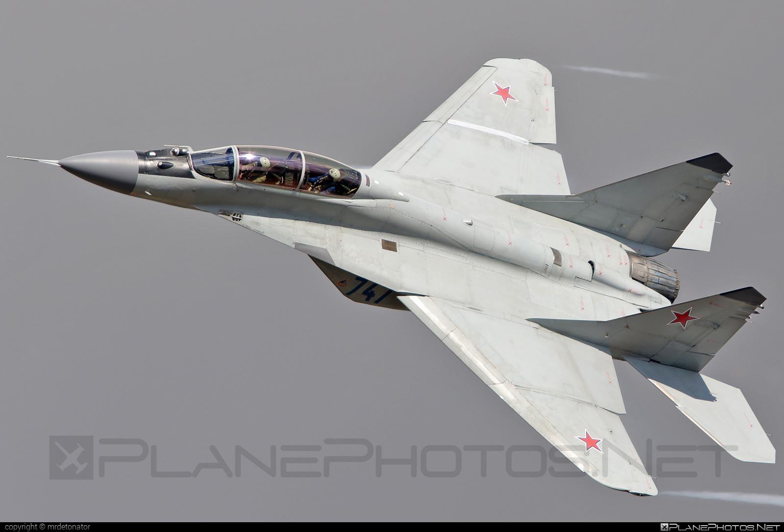 RSK MiG Mikoyan-Gurevich MiG-29M2 - 747