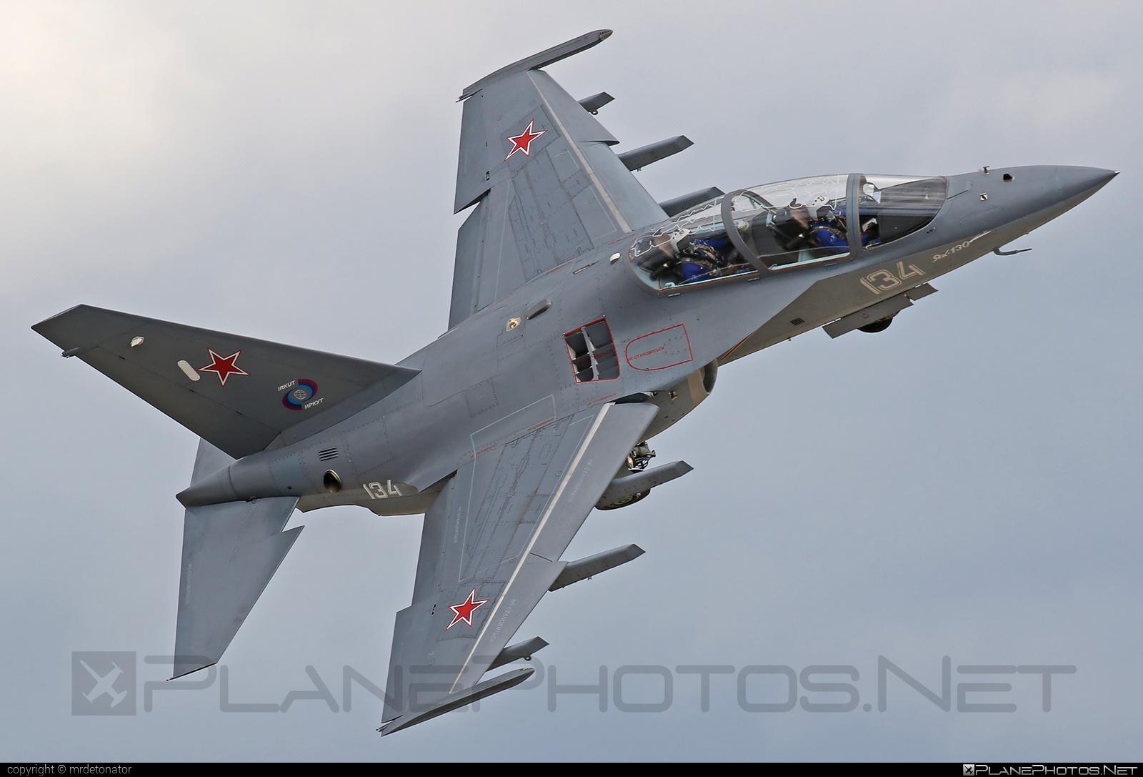 Yakovlev Yak-130 - 134 operated by Yakovlev Design Bureau #yak #yak130 #yakovlev