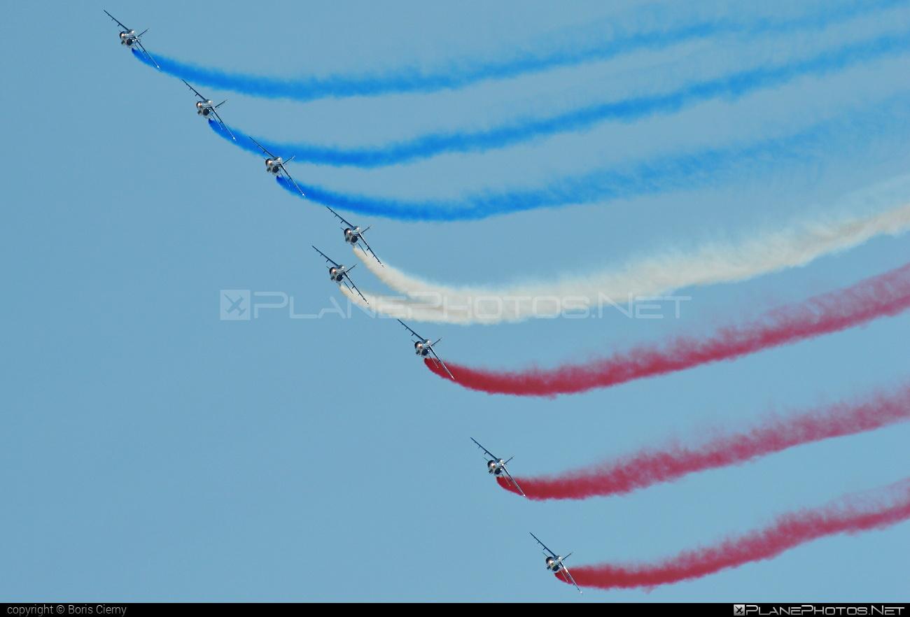Dassault-Dornier Alpha Jet E - E162 operated by Armée de l´Air (French Air Force) #alphajet #alphajete #armeedelair #dassaultdornier #frenchairforce
