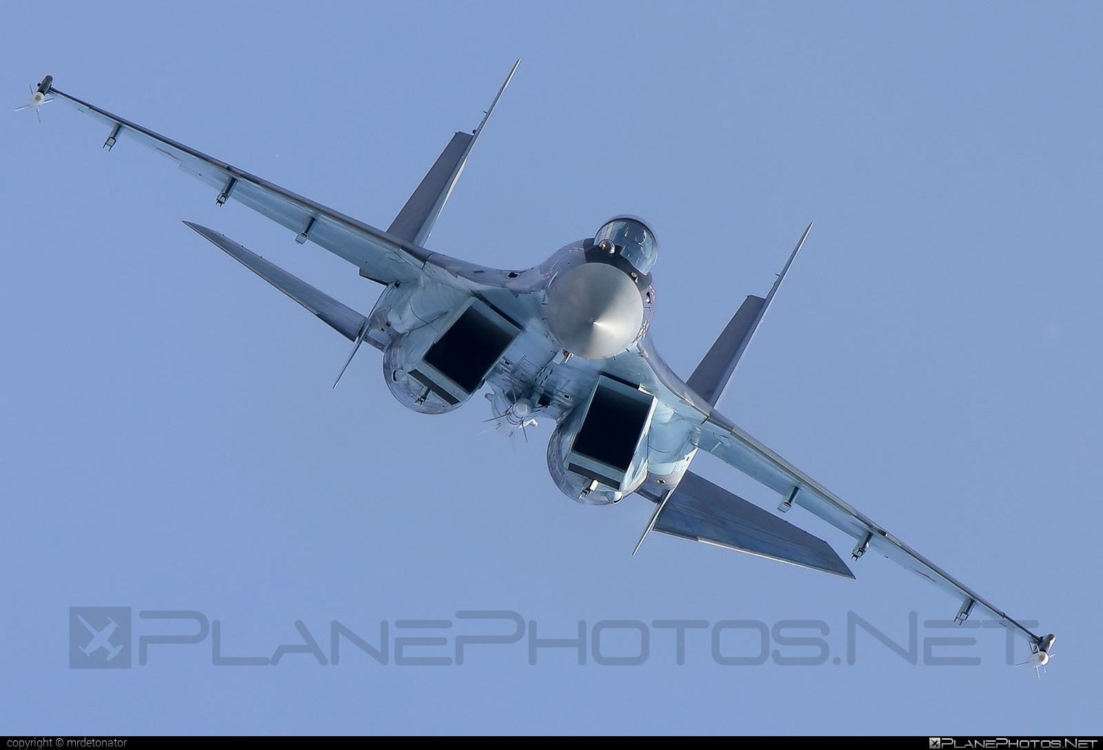 Sukhoi Su-35S - 03 operated by Voyenno-vozdushnye sily Rossii (Russian Air Force) #sukhoi