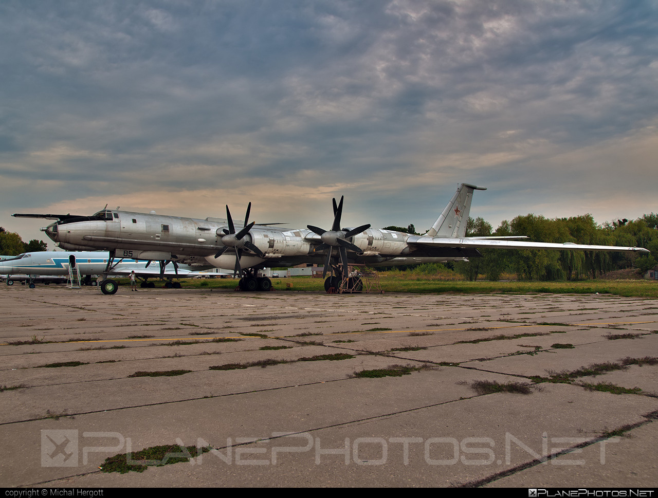 Tupolev Tu-142MZ - 85 operated by Povitryani Syly Ukrayiny (Ukrainian Air Force) #povitryanisylyukrayiny #tu142 #tu142mz #tupolev #ukrainianairforce