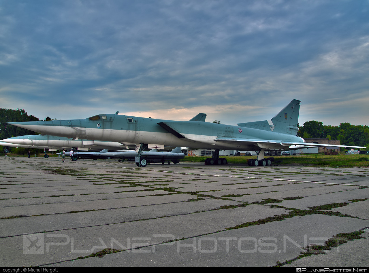Tupolev Tu-22M-3 - 57 operated by Povitryani Syly Ukrayiny (Ukrainian Air Force) #povitryanisylyukrayiny #tu22 #tu22m3 #tupolev #ukrainianairforce