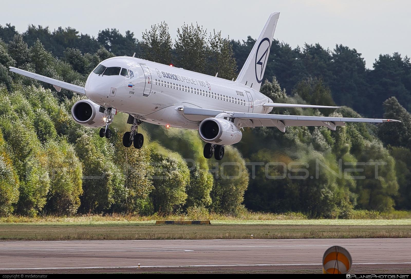Sukhoi SSJ 100-95LR Superjet - 97006 operated by Sukhoi Design Bureau #maks2015 #ssj100 #ssj10095lr #sukhoi #sukhoisuperjet #superjet