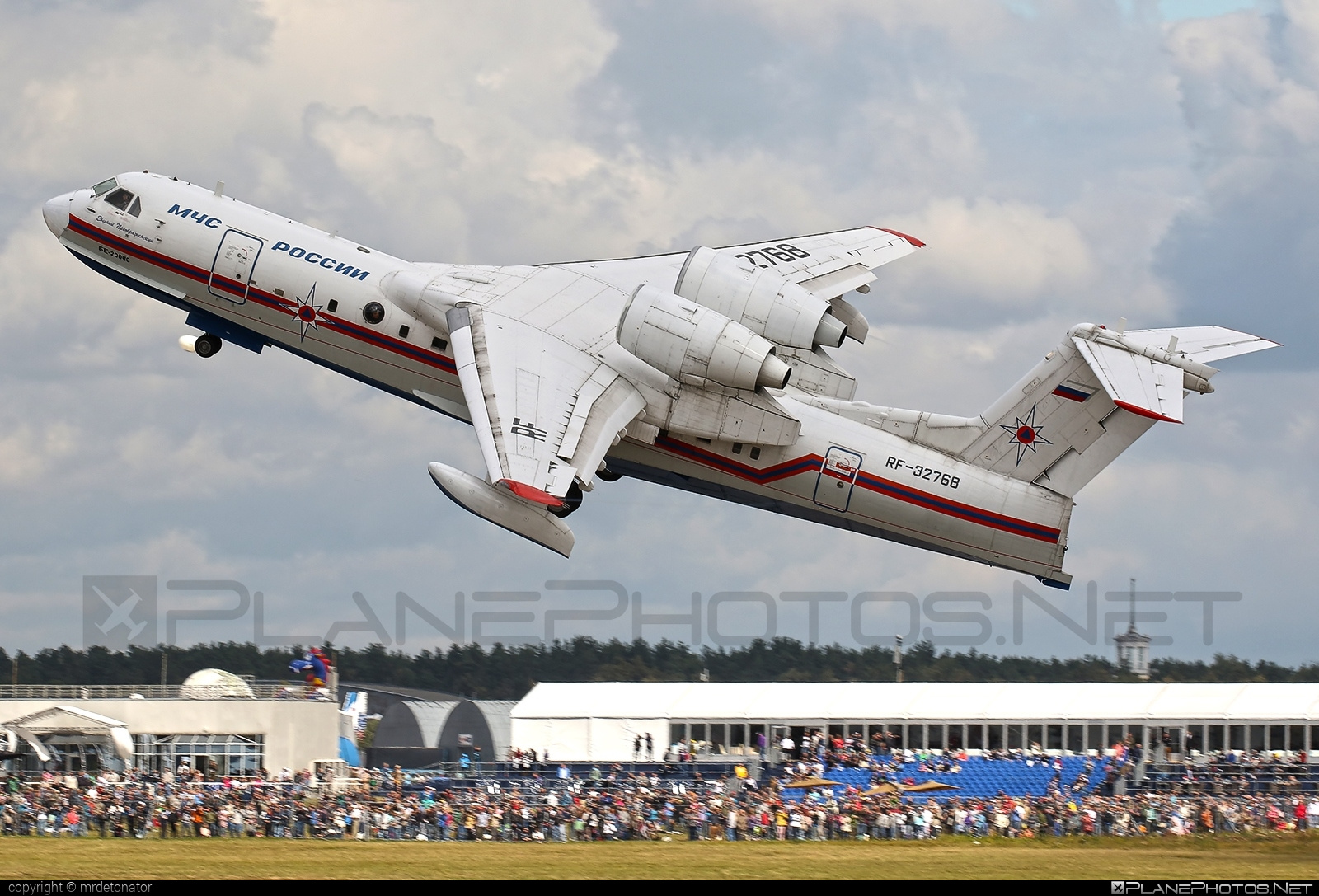 Beriev Be-200ChS - RF-32768 operated by Russia - Ministry for Emergency Situations (MChS) #beriev