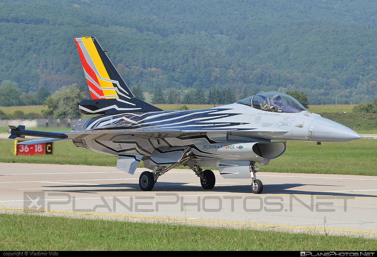 SABCA F-16AM Fighting Falcon - FA-123 operated by Luchtcomponent (Belgian Air Force) #belgianairforce #f16 #f16am #fightingfalcon #luchtcomponent #sabca