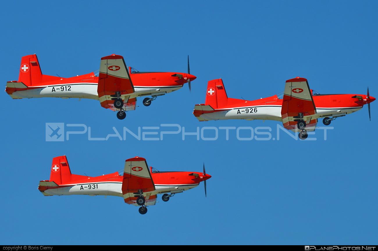 Pilatus NCPC-7 - A-926 operated by Schweizer Luftwaffe (Swiss Air Force) #ncpc7 #pc7 #pilatus #pilatusncpc7 #pilatuspc7 #schweizerluftwaffe #swissairforce