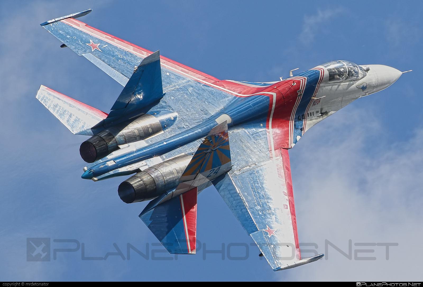 Sukhoi Su-27UB - 24 operated by Voyenno-vozdushnye sily Rossii (Russian Air Force) #maks2015 #su27 #su27ub #sukhoi #sukhoi27