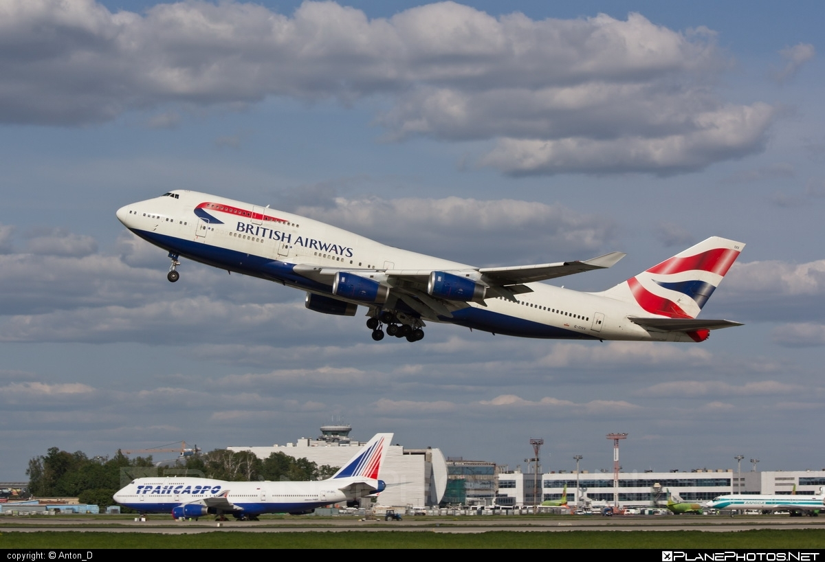 Boeing 747-400 - G-CIVV operated by British Airways #b747 #boeing #boeing747 #britishairways #jumbo